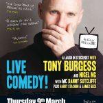 Tony Burgess poster