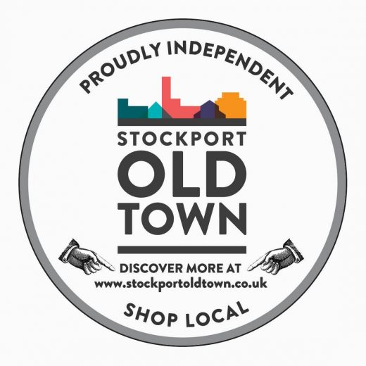 Stockport Old Town sticker