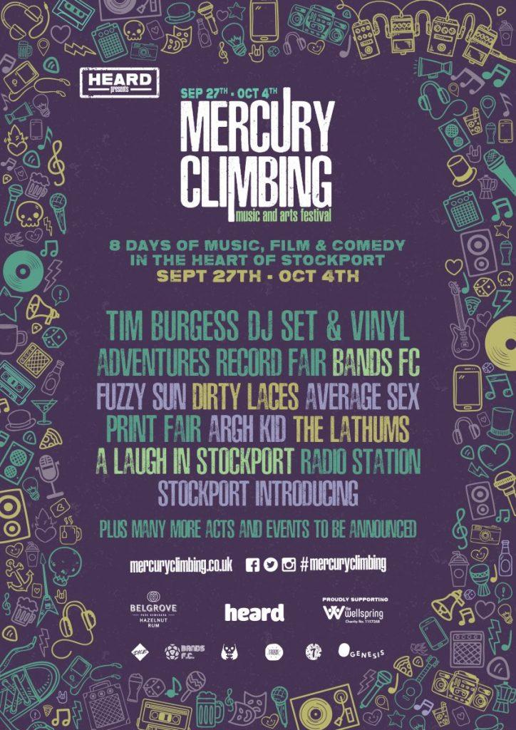 Mercury Climbing poster