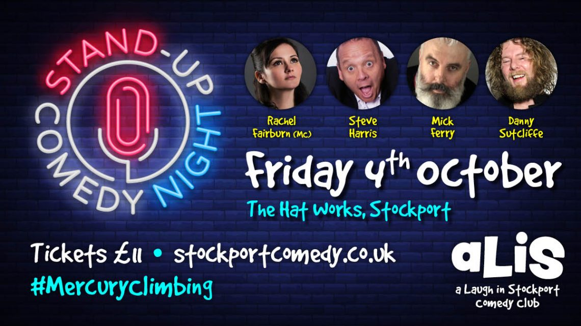 A Laugh in Stockport comedy club at Mercury Climbing
