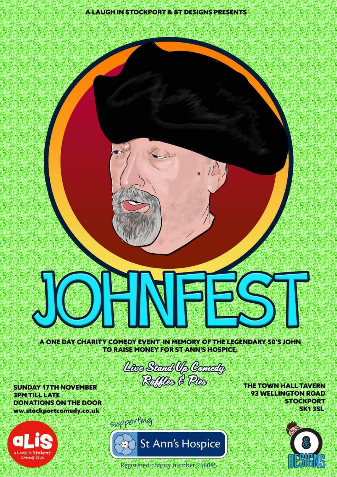 JohnFest poster